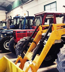Tractores nuevos y de segunda mano. Maquinaria Agrícola