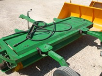Barredora para olivar con barra hidraulica